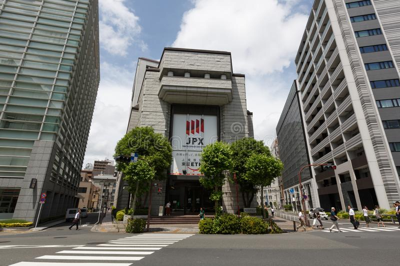 Tokyo Stock Exchange in Japan. The Tokyo Stock Exchange is a stock exchange located in Tokyo, Japan. It is the fourth largest stock exchange in the world by stock photos