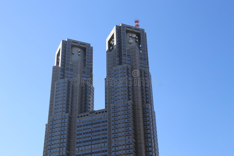 Tokyo storstads- regerings- byggnad royaltyfria foton