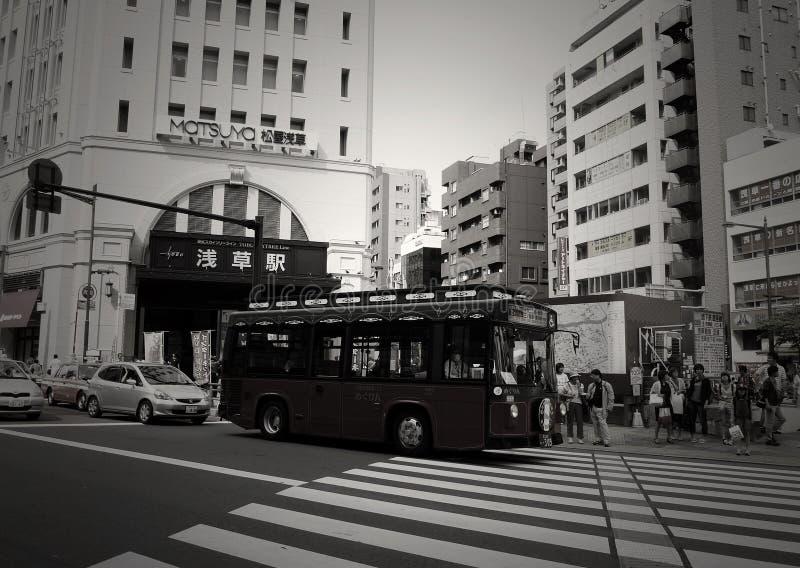 Tokyo-Straße stockfoto