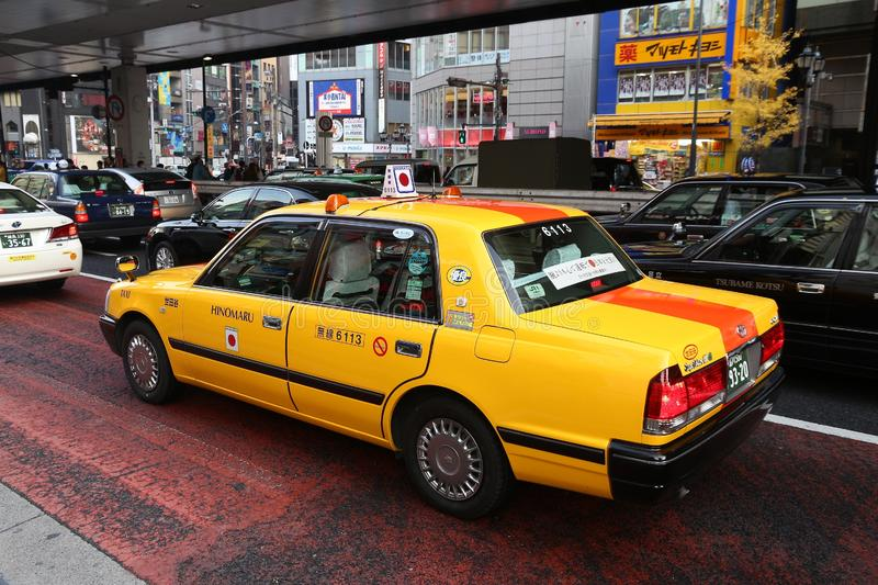 Tokyo taxi cab editorial image. Image of roppongi, modern ...