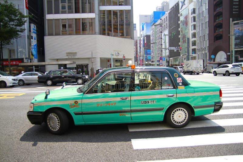 Tokyo Taxi Japan stock images