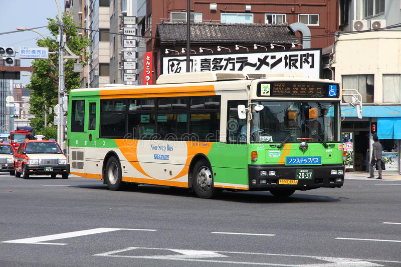 Download Tokyo - Toei Bus editorial stock photo. Image of hino - 26856528