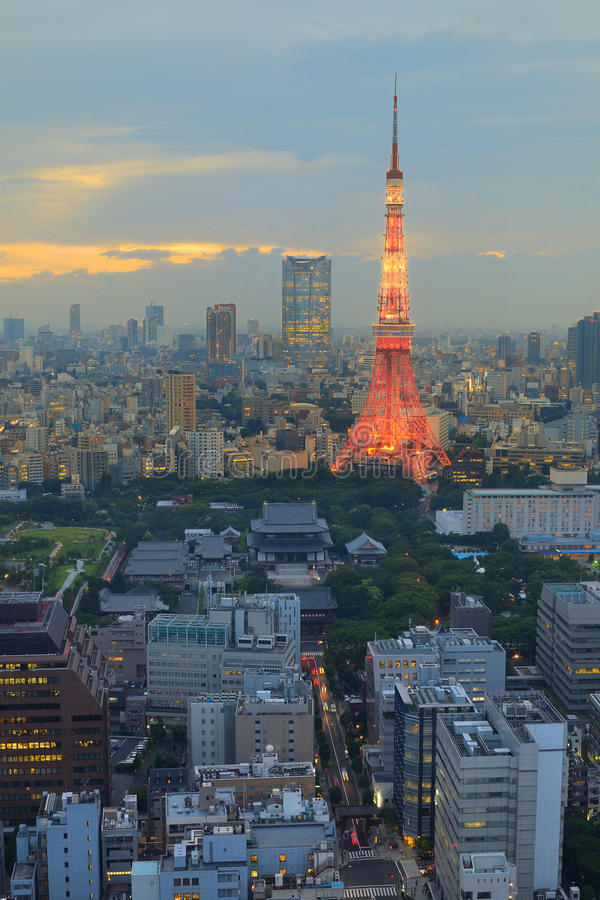 Download Tokyo Tower stock photo. Image of landmark, skyline, antenna - 20715848