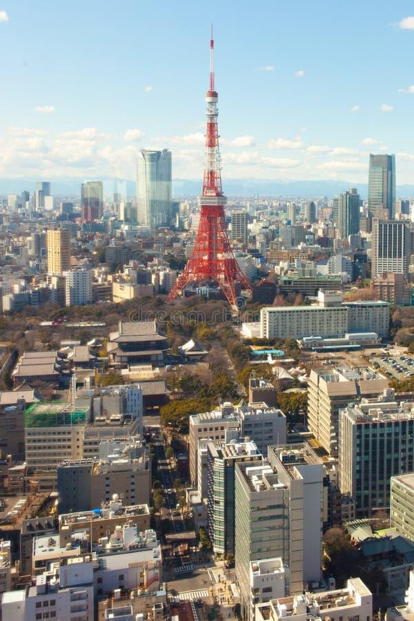 Tokyo tower, Japan stock photography