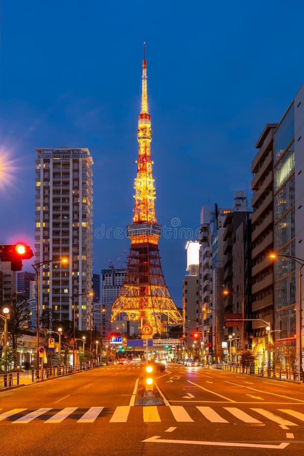 Tokyo Tower sunset royalty free stock photos