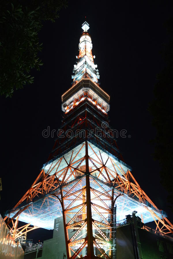 Tokyo-Turm stockfotografie
