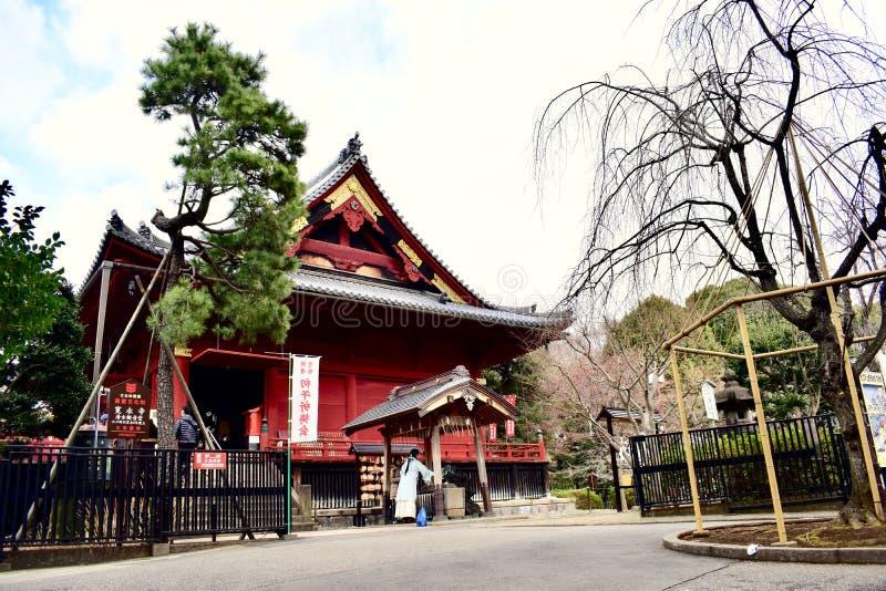 Japan Tokyo Ueno Park Temple royalty free stock photos