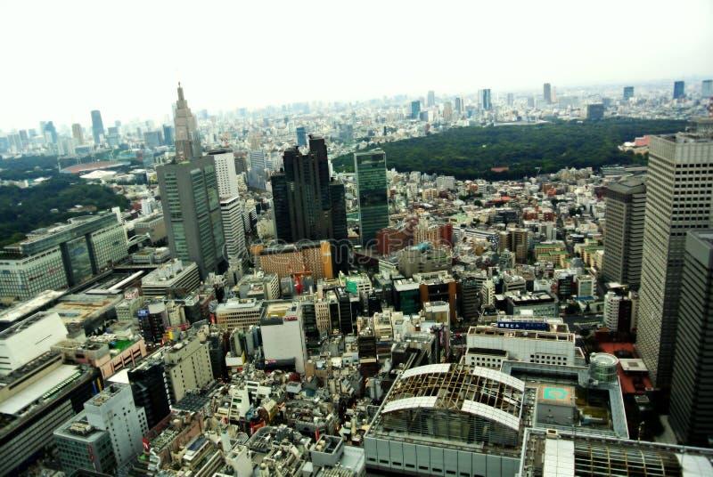 Tokyo van het dak stock fotografie