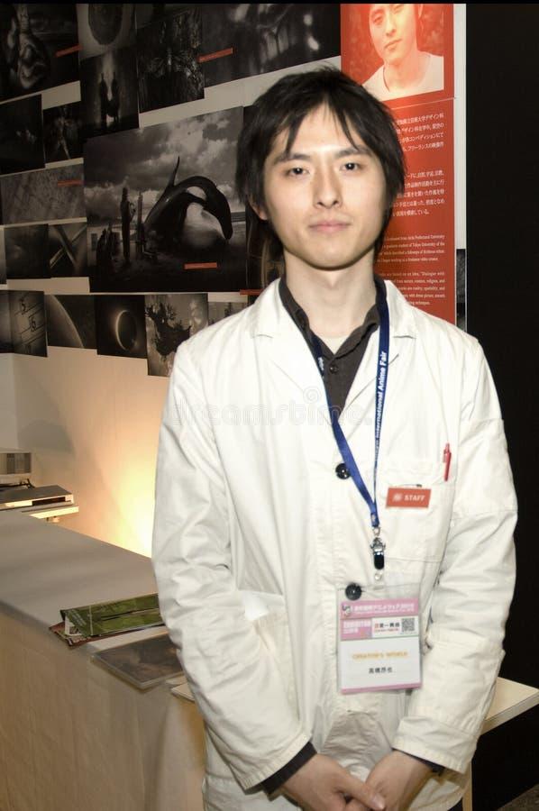Tokyointernationaler Anime angemessenes 2010 stockbilder