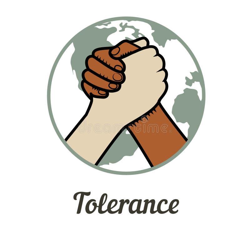 tolérance illustration libre de droits