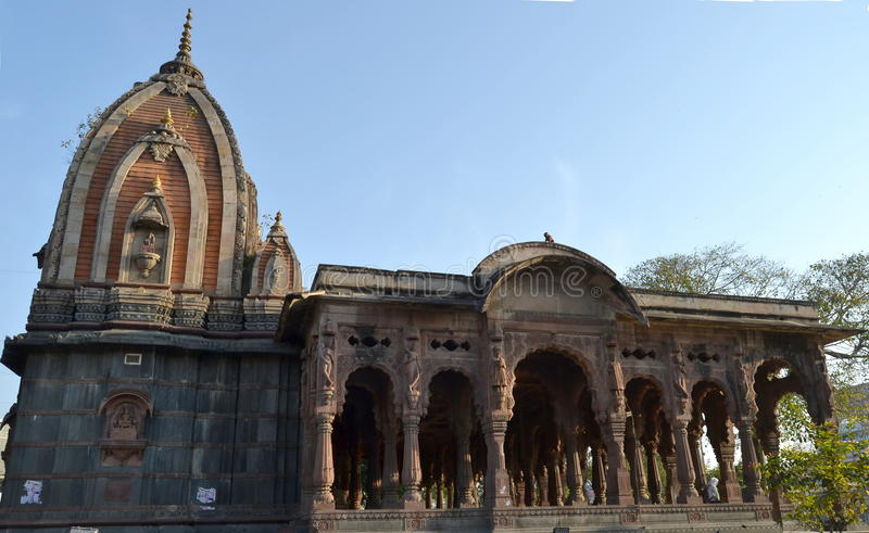 Toldo antiguo Indore de la era de Holkar imagen de archivo