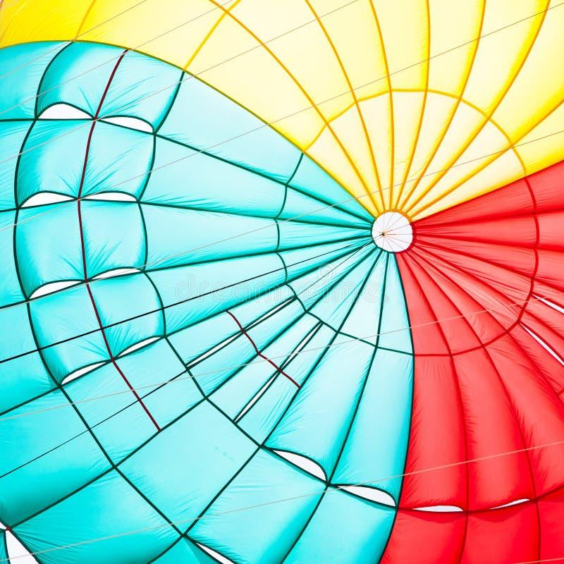 Toldo de paracaídas imagenes de archivo