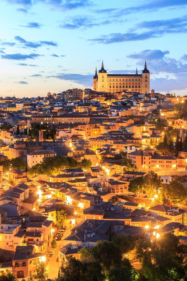 Toledo é capital de província de Toledo, Espanha foto de stock royalty free