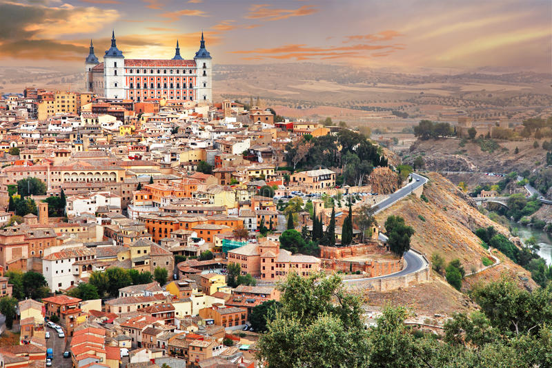Toledo stockfotos