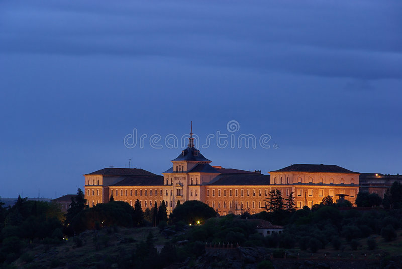 Download Toledo Academy 01 stock image. Image of military, spain - 5307055