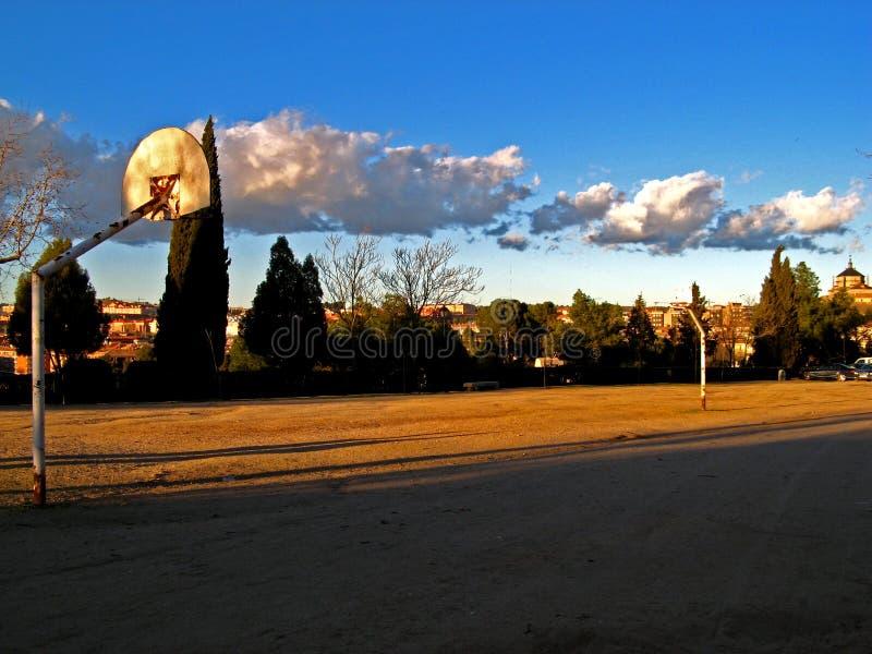 Toledo, Basketball Court royalty free stock photography