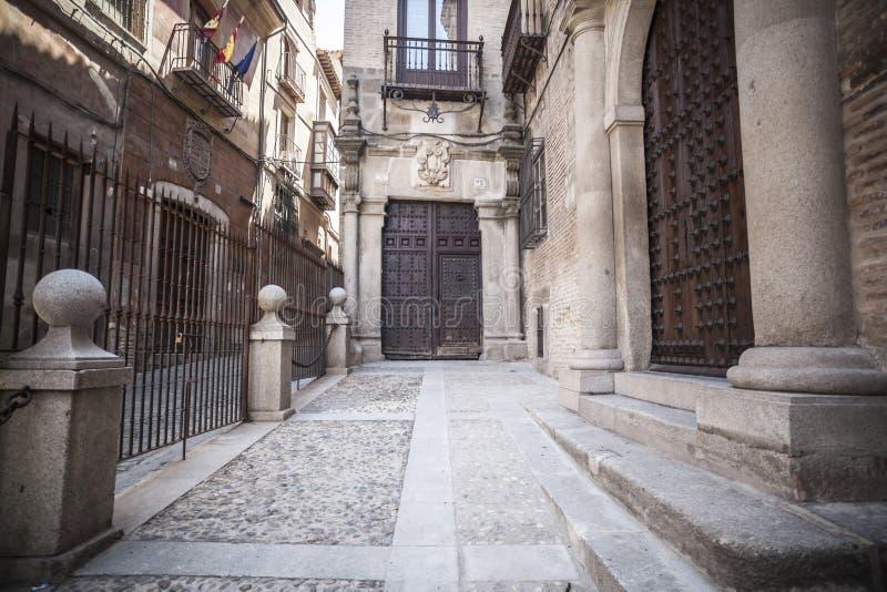 Toledo, Castilla La Mancha, Spanje royalty-vrije stock afbeelding