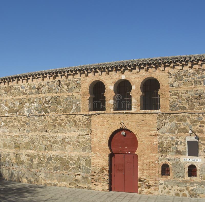 Toledo, Castilla La Mancha/Spanje 19 oktober, 2017 Arena op 25 Juli, 1946 wordt ingehuldigd die stock foto's