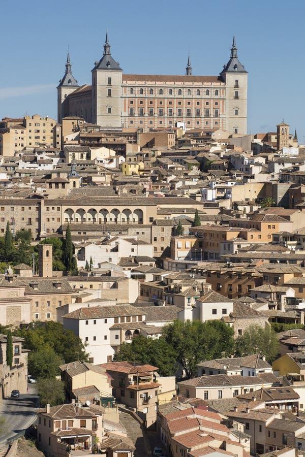 Toledo, Castilla La Mancha/Spanje 19 oktober, 2017 De stad heeft vele bezienswaardigheden en is een Plaats van de Werelderfenis s stock fotografie