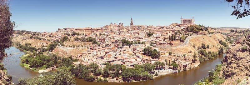 Toledo Castilla los angeles Mancha Hiszpania fotografia stock