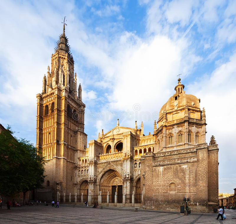 Toledo Cathedral arkivfoton