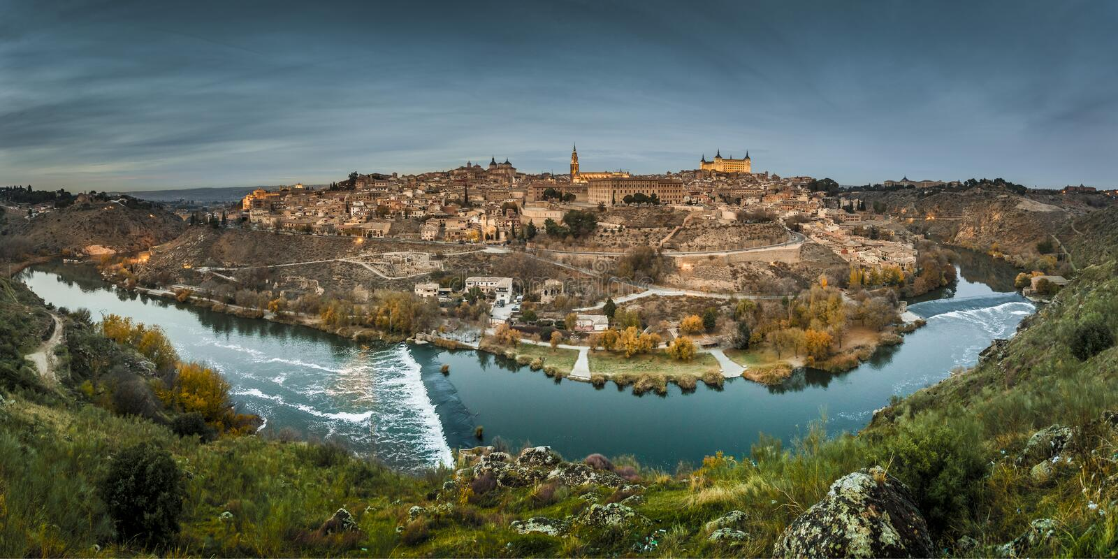 Toledo city (Spain) stock images