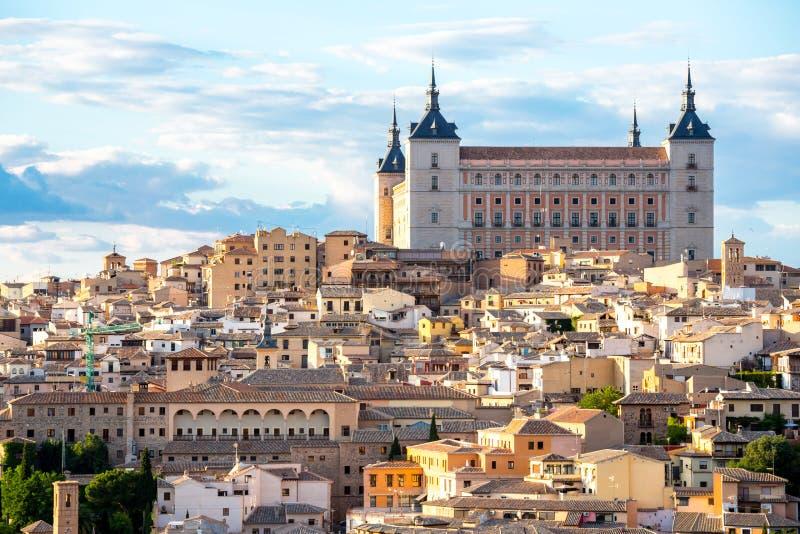 Toledo Cityscape Spain stockfotografie