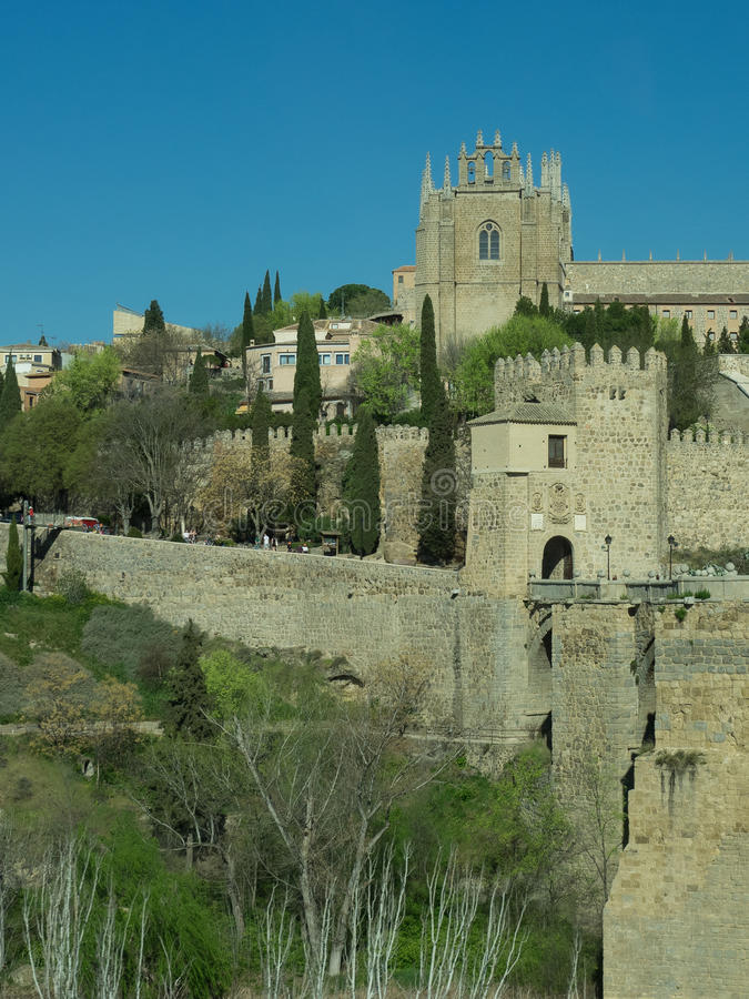 Toledo em Spain foto de stock royalty free