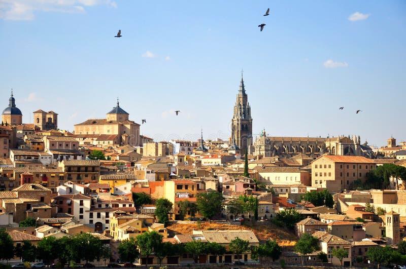 Toledo en Espagne image stock