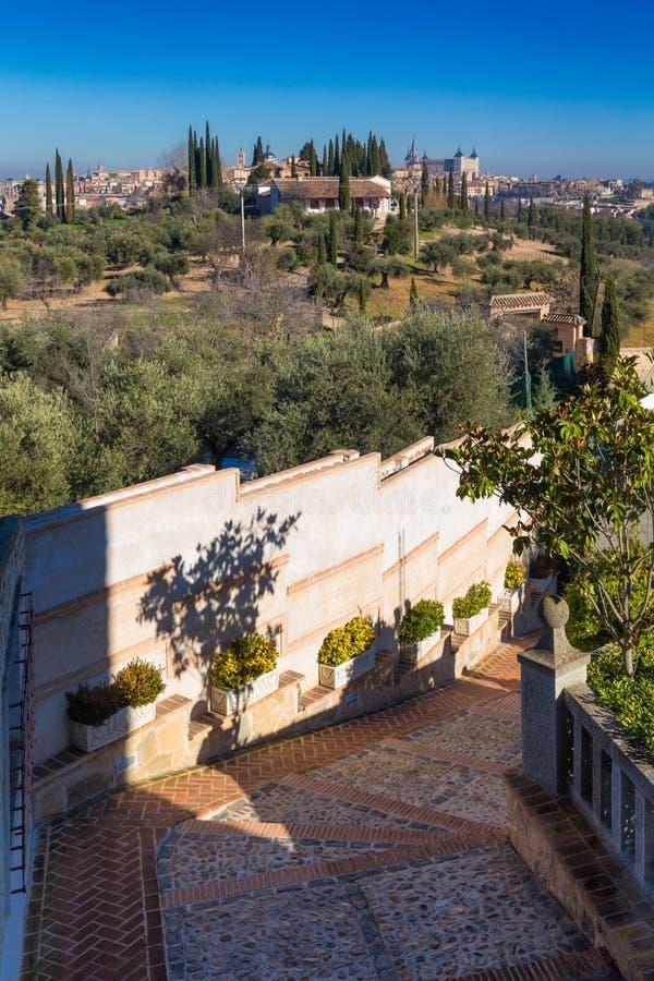 Toledo gammal stadstad i Spanien royaltyfri fotografi
