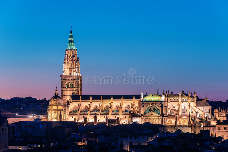 Toledo, Hiszpania: katedra zdjęcia royalty free