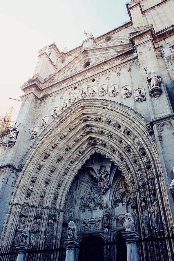 Toledo katedra obrazy royalty free