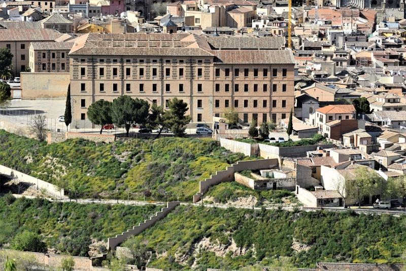 Toledo, one of the most beautiful cities in Spain stock images