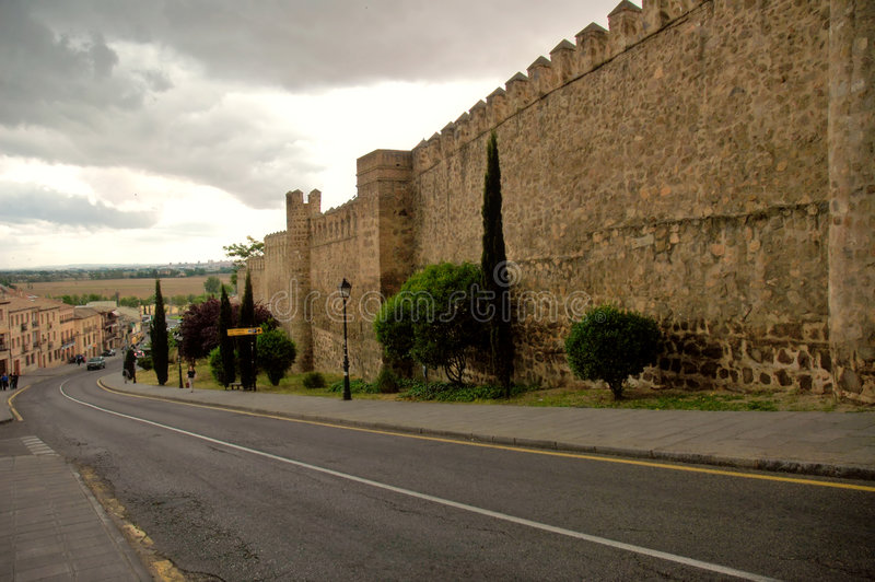 Toledo - l'Espagne image libre de droits