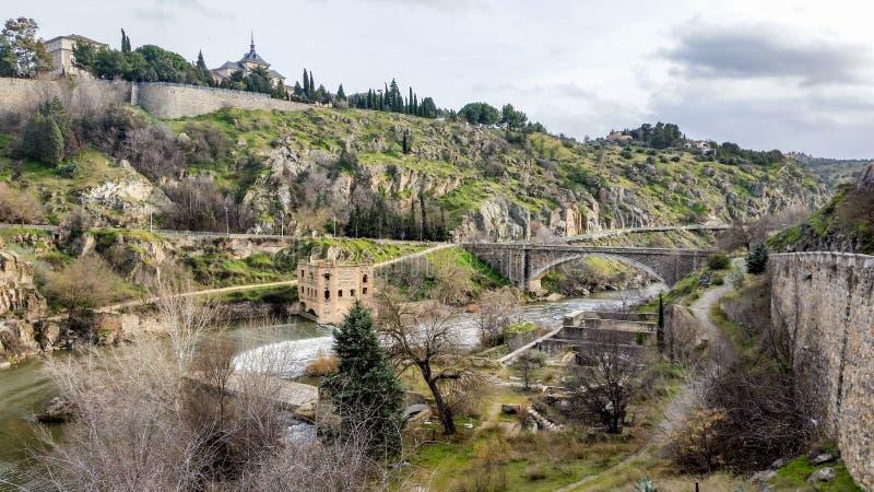Toledo - Mooie Middeleeuwse Stad royalty-vrije stock foto's