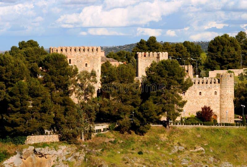 Toledo-Schloss stockfoto