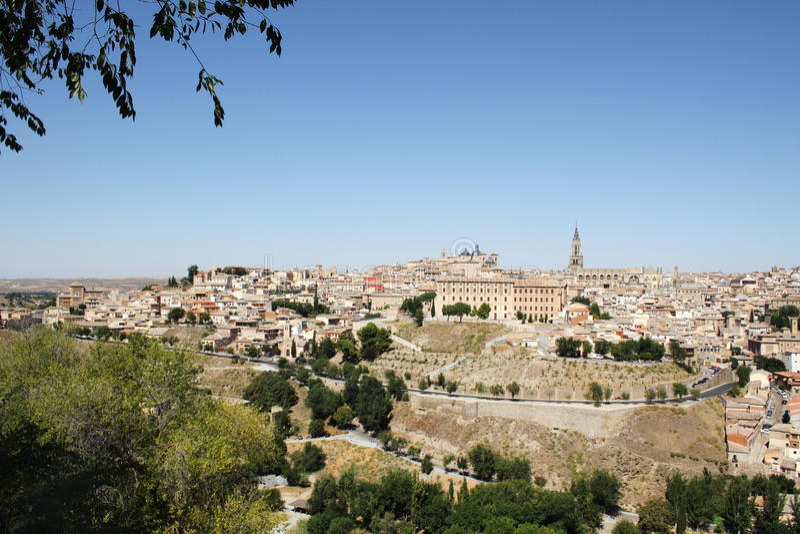 Download Toledo in Spain stock image. Image of history, alcazar - 21464927