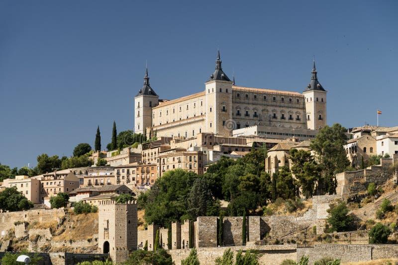 Toledo (Spain): the Alcazar. Toledo (Castilla-La Mancha, Spain): the Alcazar, historic castle stock photo