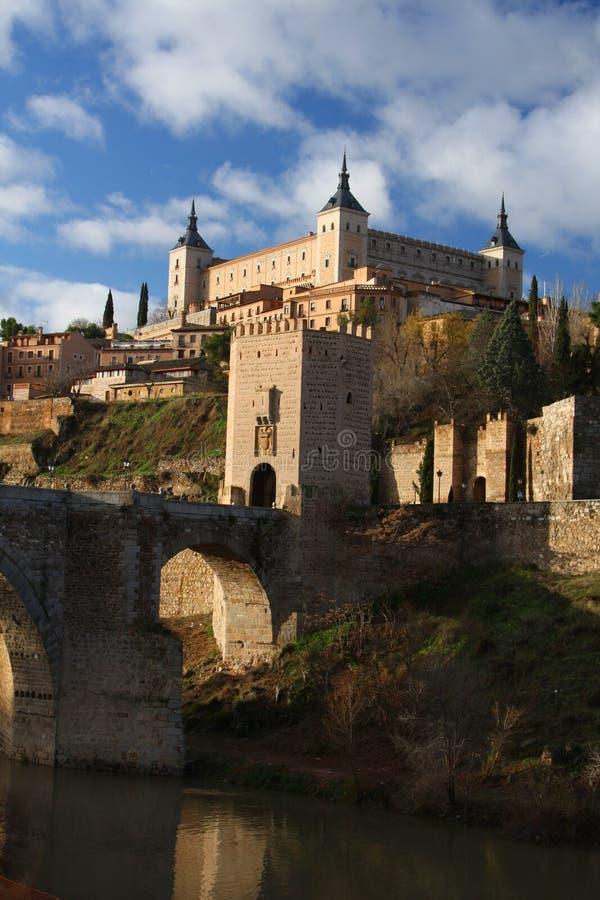 Toledo in Spanje royalty-vrije stock afbeeldingen