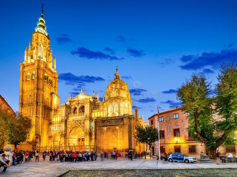 Toledo, Spanje - Castilla La Mancha, Catedral Primada stock foto's