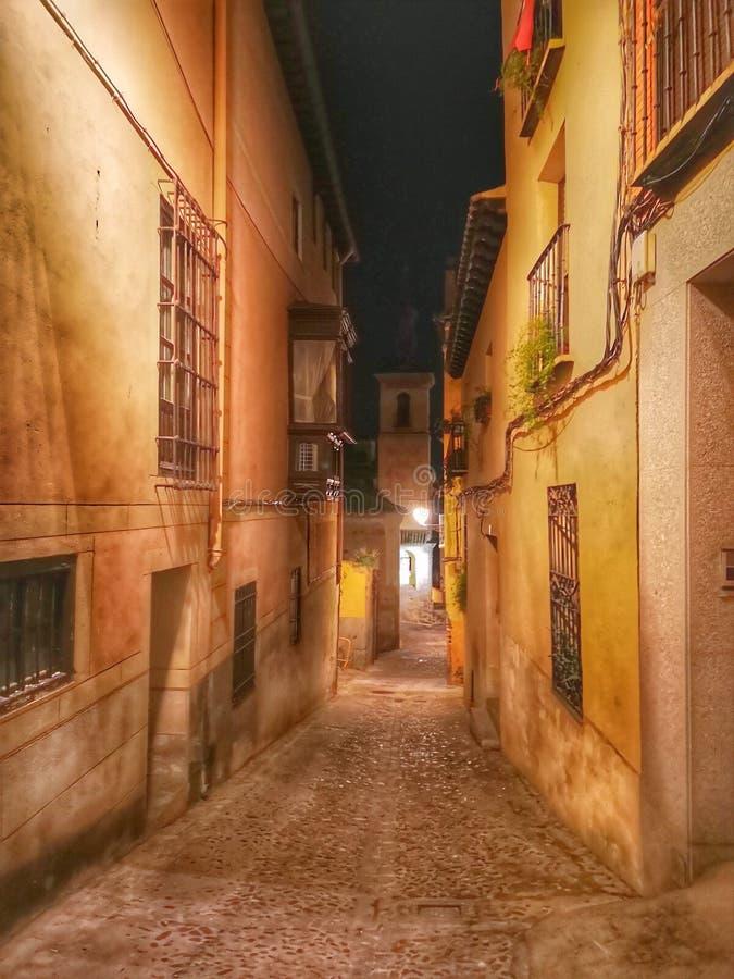 Toledo street royalty free stock image