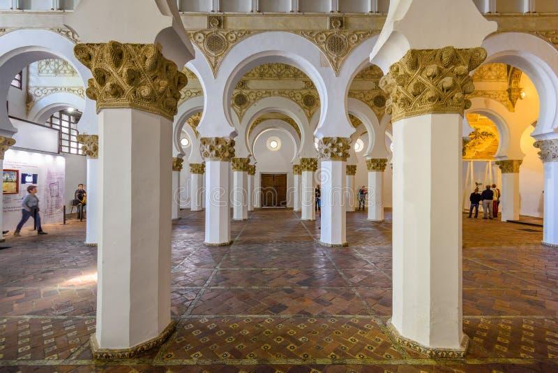 Toledo Synagogue royalty free stock photos