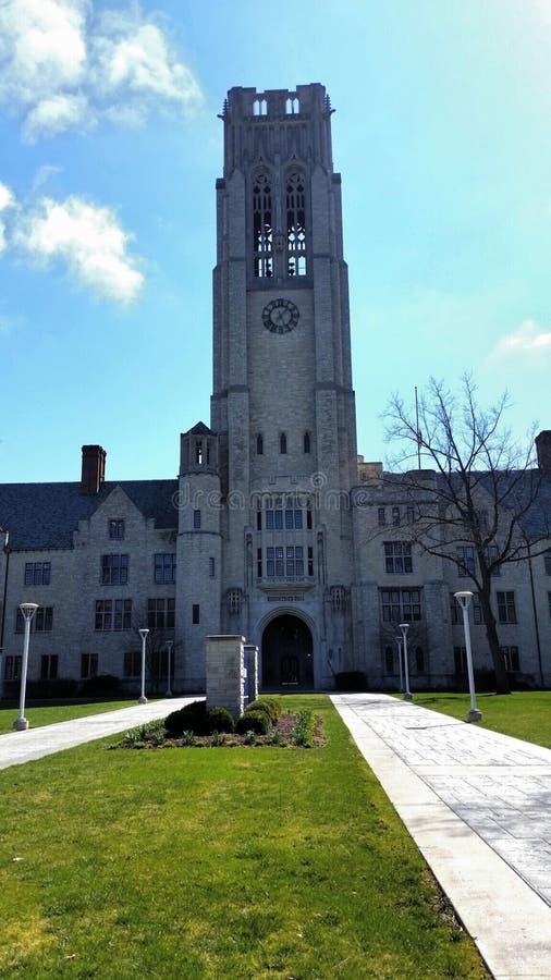 Toledo University. At Ohio campus Rockets royalty free stock image