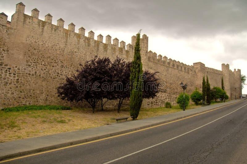 Toledo Wall royalty free stock photos