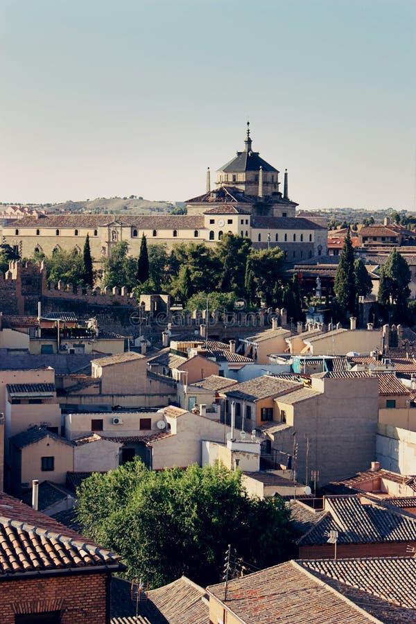 Toledo widok z lotu ptaka obrazy stock