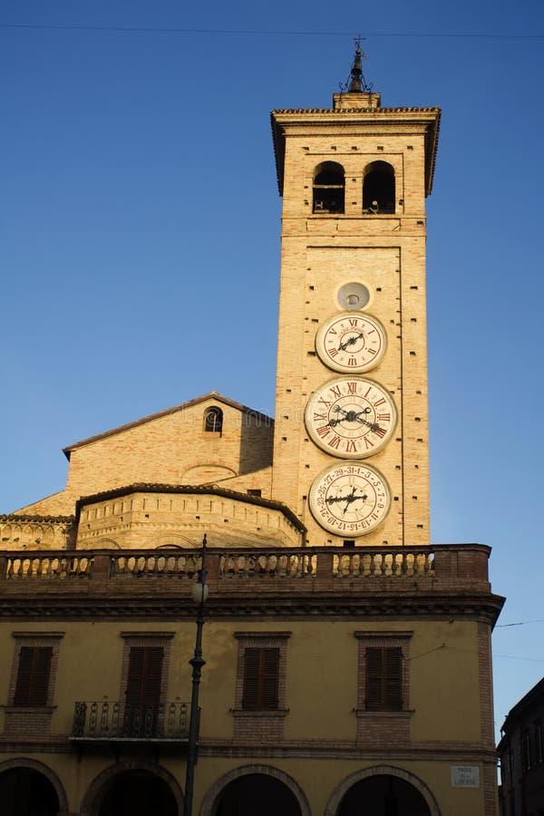 Tolentino, la tour des montres photos stock