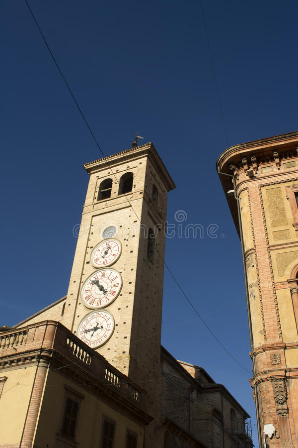 Download Tolentino, The Tower Of Watches Stock Photo - Image: 83701462