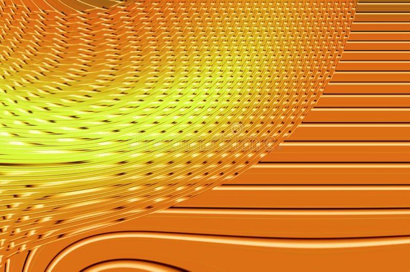 Tolerancia de la geometría - en naranja. imagen de archivo