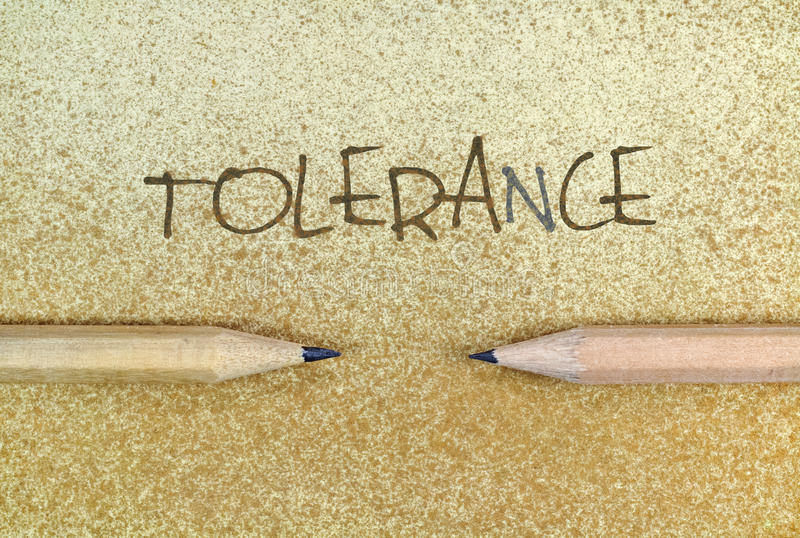 tolerantie stock foto's