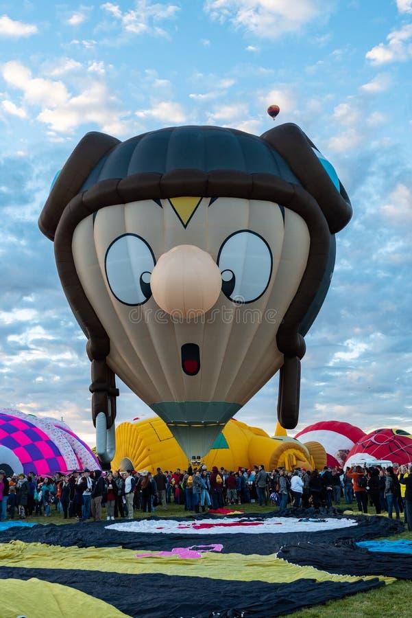 Tolfy de Belgische Ballon royalty-vrije stock afbeelding